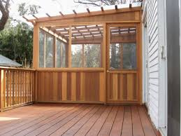 wonderful screened in porch and deck idea 20 porch decking and