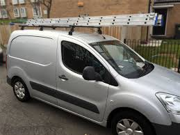 peugeot partner 2016 to fit 2016 peugeot partner roof rack bars rails 3 bar system ebay