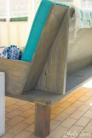 Building Outdoor Wooden Furniture by Best 25 Outdoor Sofas Ideas On Pinterest Rustic Outdoor Sofas