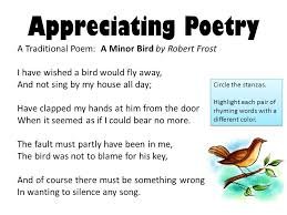 appreciating poetry form is the way a poem s and are