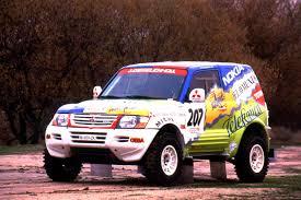 mitsubishi pajero dakar 2001 paris dakar car