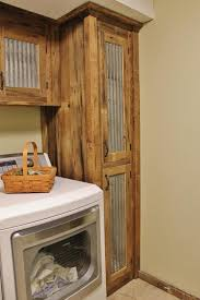 rustic barn wood kitchen cabinets rustic storage reclaimed barn wood cabinet w tin doors unfinished 8425