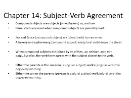 chapter 14 subject verb agreement ppt video online download