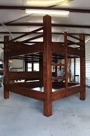 High End Bunk Beds King King Bunk Bed Made For Ceiling Heights 9