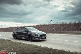 ford focus st aftermarket ford focus st sedan by ss tuning 07 car24news com