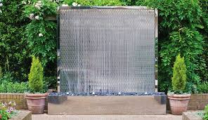 elegant wall water features wall water feature petal wall david