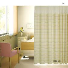 inherently retardant stripe cubicle hospital curtains 1008