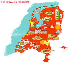 netherlands map foods map where to eat traditional food