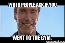 Arnold Meme - gym meme