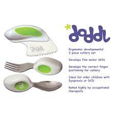 Kitchen Knives For Children Doddl Cutlery Set U2013 Ergonomic Knife Fork And Spoon Dcd