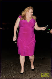rebel wilson has a u0027magical u0027 girls night out with chrissie fit