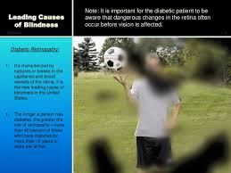 How Does Diabetes Cause Blindness Blindness Awareness