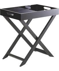 buy habitat oken small occasional table black at argos co uk