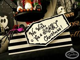 nightmare before christmas wrapping paper nightmare before christmas party ideas lynlees