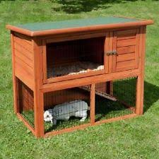 Rabbit Hutch With Detachable Run Rabbit Hutches With Run Ebay