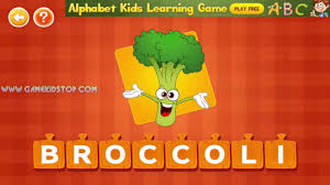 learn fruits and vegetables spelling kids alphabet kids learning