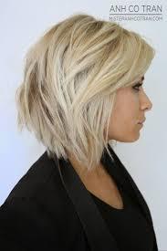 short blonde layered bob hairstyles ideas