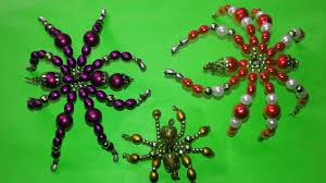 how to make beaded spiders diy beaded wire spider tutorial