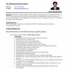 sle hvac resume hvacme objective exles hvac resume sle draf experience sle