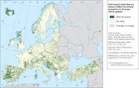 Uaa Map Agriculture U2014 European Environment Agency