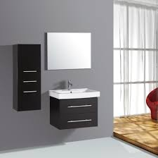 Decorative Bathroom Vanities by Red Brown Wall Paint Small Real Wood Vanity With Stroatge Drawers