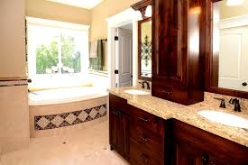 Discount Double Vanity For Bathroom Bathroom Hickory Bathroom Vanity For Durability And Moisture