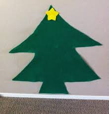 alohamora open a book felt christmas tree