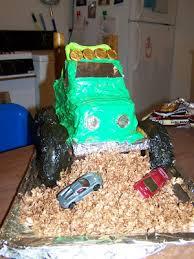 faithful homemaking how to make a monster truck cake