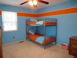 Boys Room Paint Ideas by Boys Room Orange And Blue Behr Paint Colors Orange Burst 230b 6