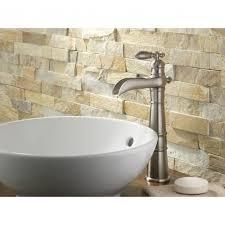 Interior  Tumbled Stone Tile Backsplash Stacked Stone Backsplash - Backsplash stone tile