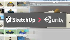 importing models in unity 3d from google sketchup muhammad