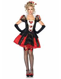 3 pcs poker red queen of hearts halloween costumes womens carnival