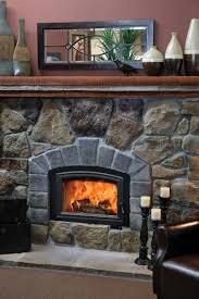 are wood burning fireplace inserts efficient decorating idea