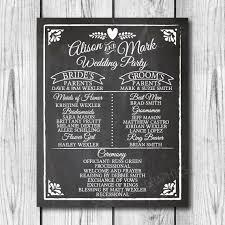 sle of wedding program best 25 wedding bulletins ideas on wedding