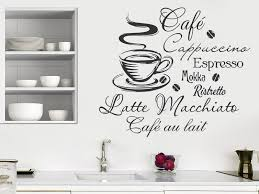 küche wandtattoo wandtattoo heißer kaffee mit kaffeesorten wandtattoos de