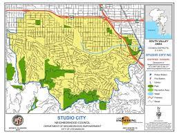 studio city map la council maps