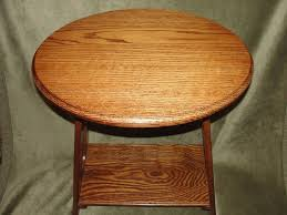 round oak end table well made custom woodworking oak end table design with round on top