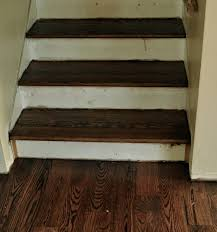 How To Cover Stairs With Laminate Flooring Refinished Stairs And Construction Questions Jennifer Rizzo