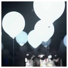 large white balloons white led balloons 45cm large la vida en led