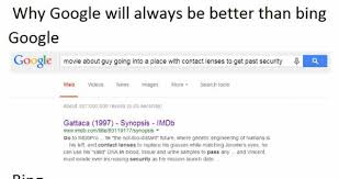 Bing Meme - why google will always be better than bing meme collection