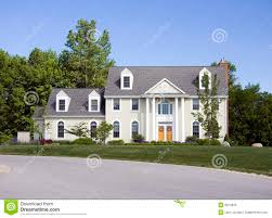 southern colonial house southern colonial estate stock image image of residence 9074633