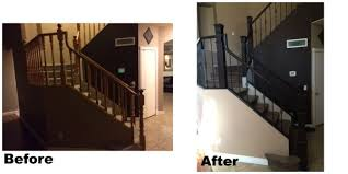Joseph R Banister Remodelaholic Entry And Staircase Makeover Reveal