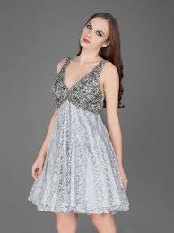 platinum silver cocktail dresses darius cordell fashion ltd
