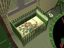 Ninja Turtle Bedding Mod The Sims Teenage Mutant Ninja Turtles Nursery And Bedroom