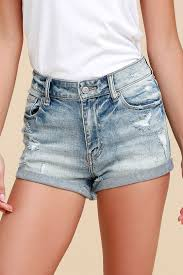 light wash denim shorts cute light wash denim shorts distressed denim shorts