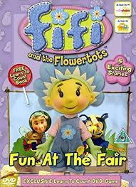 fifi u0026 flowertots fun fair dvd amazon uk fifi