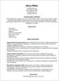 Objective For Receptionist Resume Resume Objective Examples Bilingual Resume Ixiplay Free Resume