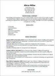 Sample Receptionist Resume by Sample Resume Bilingual Receptionist Resume Ixiplay Free Resume