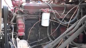 6 71 detroit diesel start up idle throttle up and shutdown