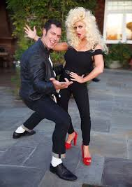Cool Halloween Costumes 25 Grease Couple Costumes Ideas Sandy Grease